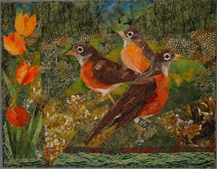 Ruth Powers Art Quilt