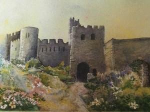 castlewatercolor